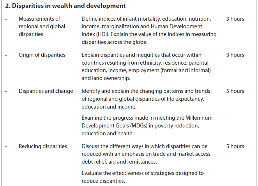 2 Disparities In Wealth And Development The Geographer
