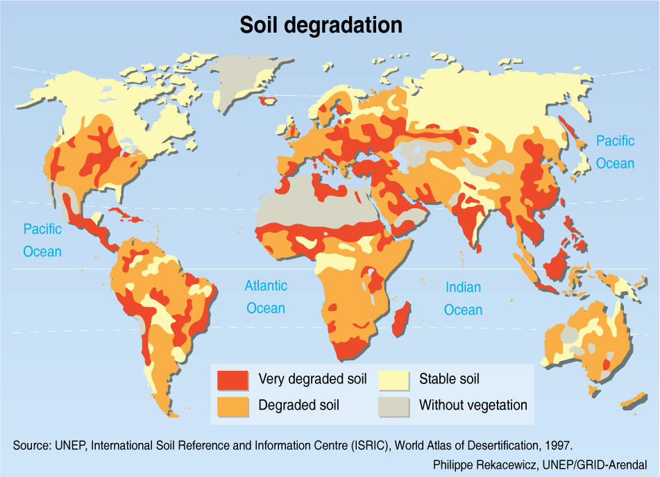 3 patterns in environmental quality and sustainability for Soil quality definition